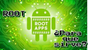 para que sirve el root